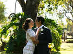 First pictures from Evelyn Sharma's countryside wedding go viral