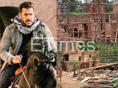 Exclusive! Salman's Tiger 3 set demolished