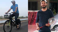 Exclusive pictures! Dhwani Gautam takes up sports activities to stay healthy