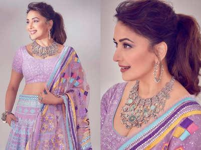 Madhuri brings pocket lehengas in fashion