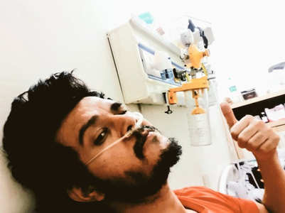 Anirudh Dave's lungs are getting recovered