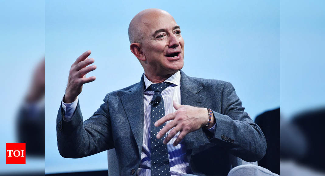 Bezos, brother to be on 1st crewed space flight of his co thumbnail