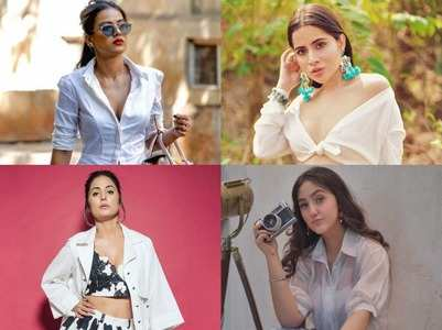 Celebs show you how to style your white shirt