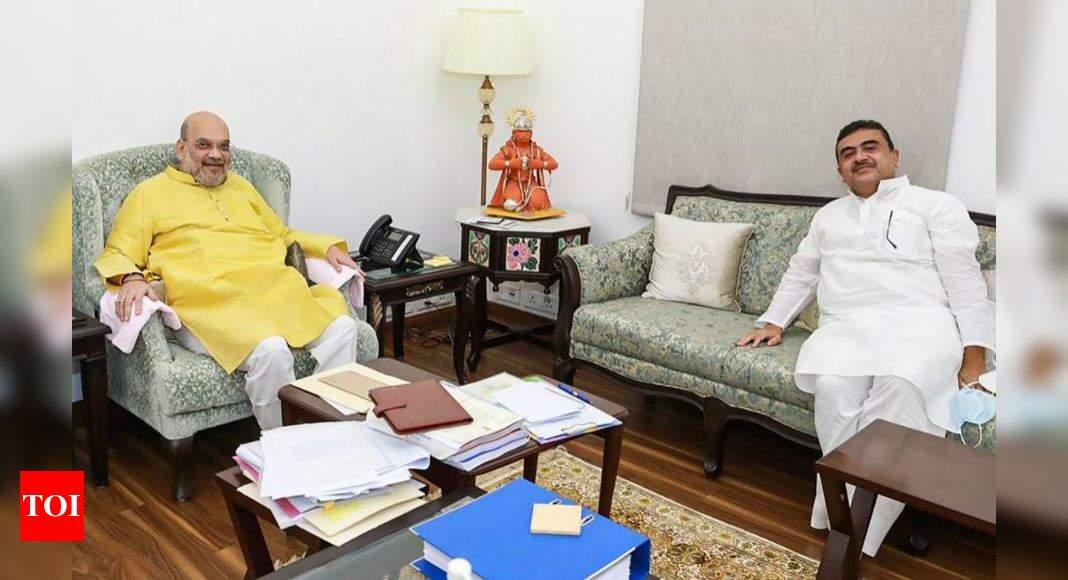 Suvendu Adhikari meets Amit Shah in Delhi thumbnail
