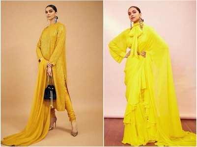 When Deepika showed us how to rock in yellow