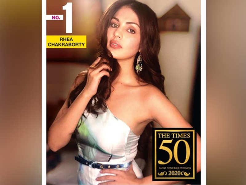 Rhea Chakraborty tops The Times 50 Most Desirable Women 2020 list