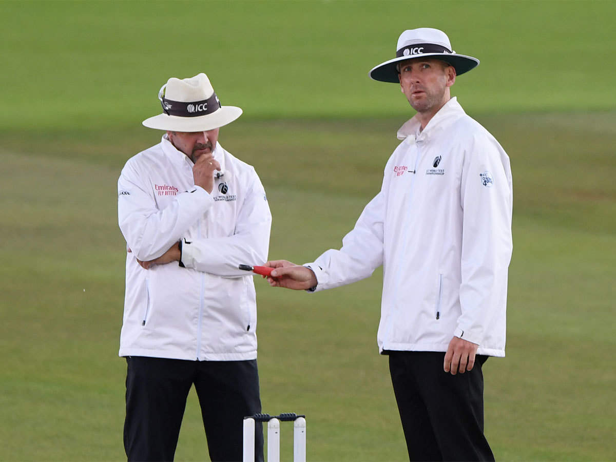 WTC Final: English umpires Richard Illingworth and Michael Gough to officiate in final, Chris Broad match referee | Cricket News - Times of India