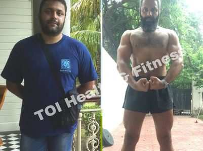 """""""I lost 33 kgs despite eating roti and rice"""""""