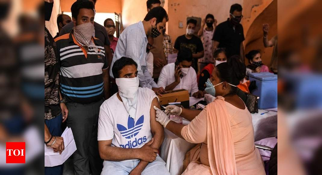 Free vaccine, food will cost govt Rs 1 lakh crore over budgeted outlay   India News – Times of India