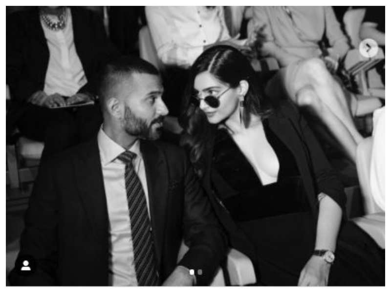 Anand Ahuja shares a romantic post for Sonam Kapoor on her birthday: You're the only wallpaper I need!