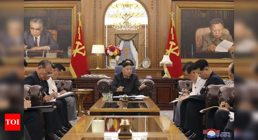 North Korea shoring up loyalty in face of Covid-19 pandemic: Analysts – Times of India