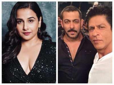 SRK or Salman- Guess Vidya Balan's choice