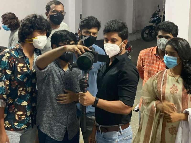 Nani shoots something special for the frontline workers; shares a glimpse