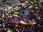 These pictures show the life of LGBT community in India