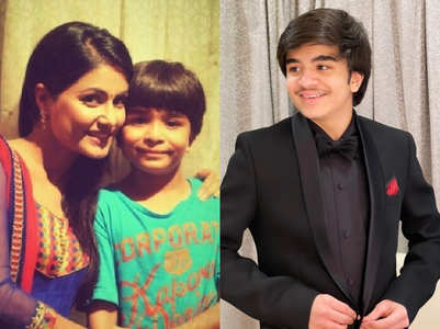 Grown-up pics of YRKKH's child actor Naksh