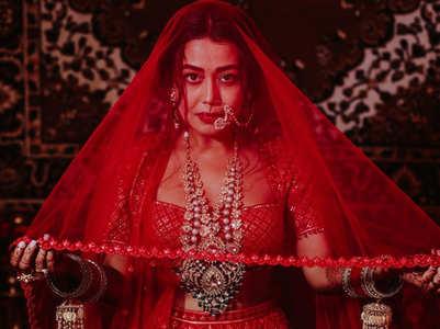 Neha Kakkar's backstage video from her wedding