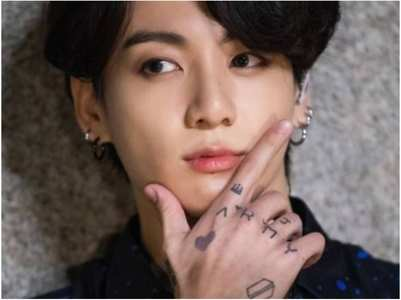 JungKook's tattoo to help legalize tattoos