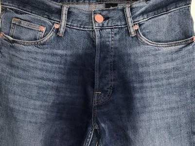 Wet jeans is a thing now