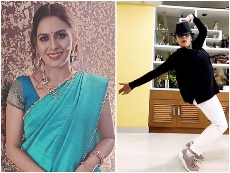 Seetha Kalyanam's Dhanya Mary Varghese leaves fans impressed with her moonwalk; watch