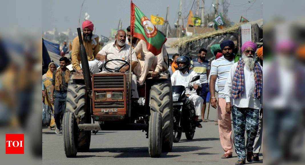 Ready to hold talks but stand remains same, say farmer leaders | India News – Times of India