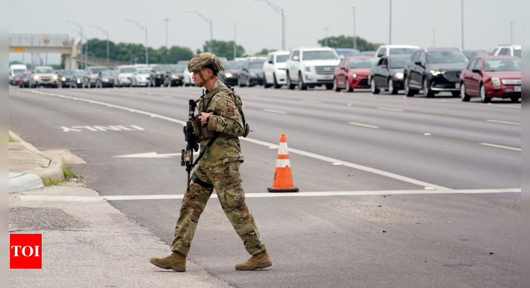 San Antonio base closed for an hour after gunfire was reported