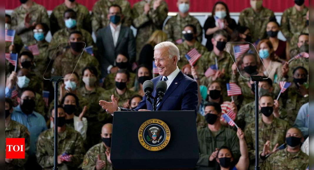 Joe Biden opens trip abroad declaring that 'America is back'