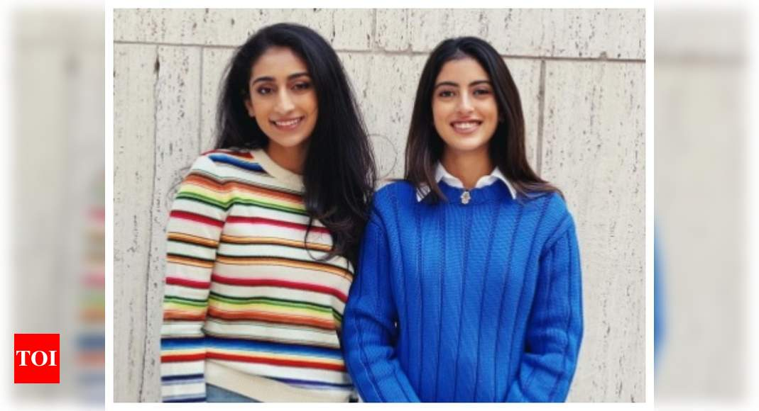 """Fans call Navya Naveli Nanda """"absolute girlboss"""" as she shows off her """"somewhat professional"""" look – Times of India"""