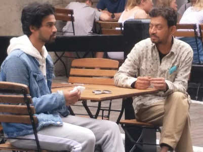 Babil posts family moments with Irrfan Khan