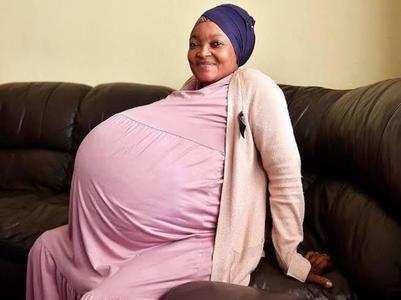 Viral: Woman gives birth to 10 babies!