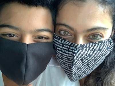 Kajol & son Yug turn into masked bandits