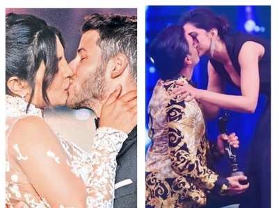 When couples sealed their love with a kiss