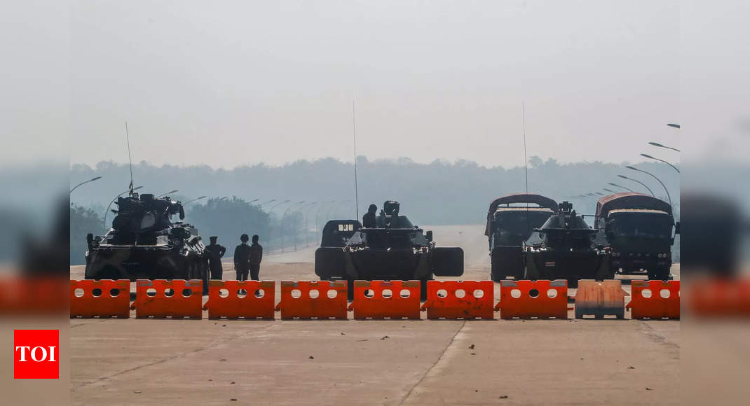 China boosts support for Myanmar army, countering US sanctions – Times of India