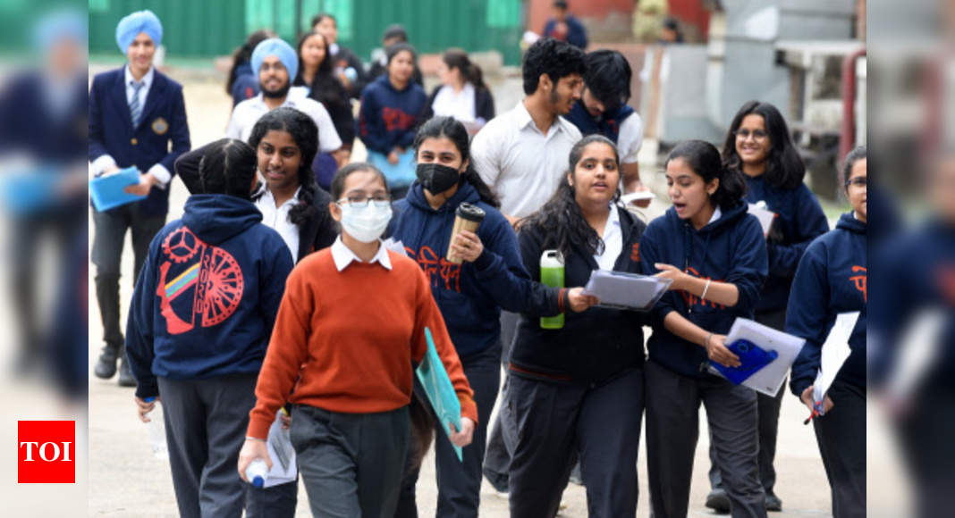 Delhi annual examinations for class 9th & 11th cancelled: Manish Sisodia – Times of India
