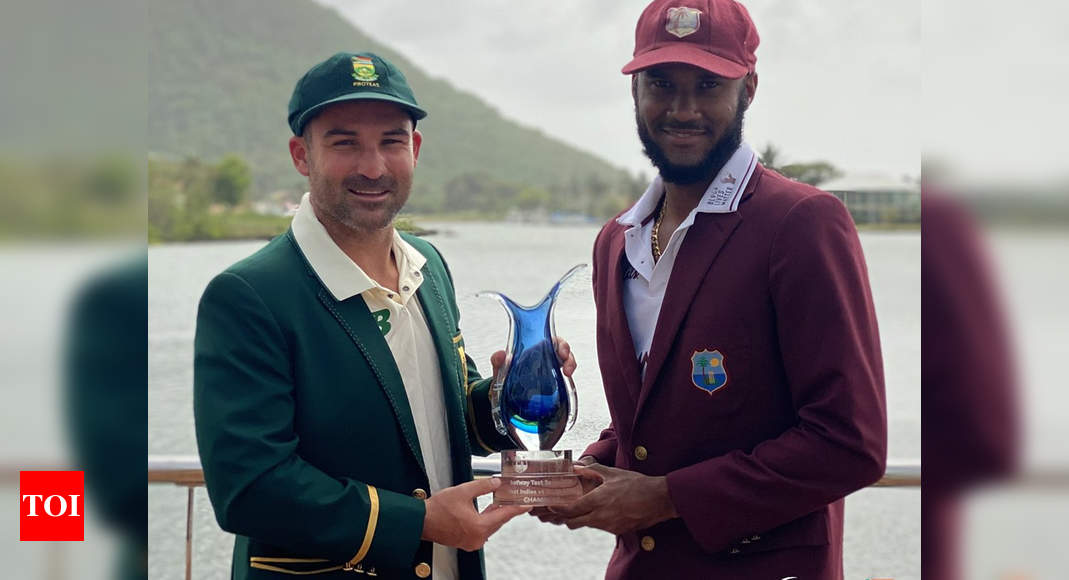 Live Cricket Score, West Indies vs South Africa 1st Test Day 1  – The Times of India : 2.4 : West Indies : 5/0