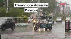 Pre-monsoon showers in Prayagraj