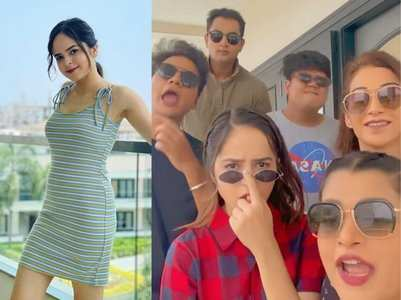 Palak Sidhwani's funny video with co-actors