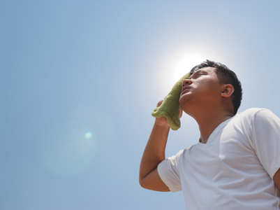 How to stay cool in the sweltering summer heat