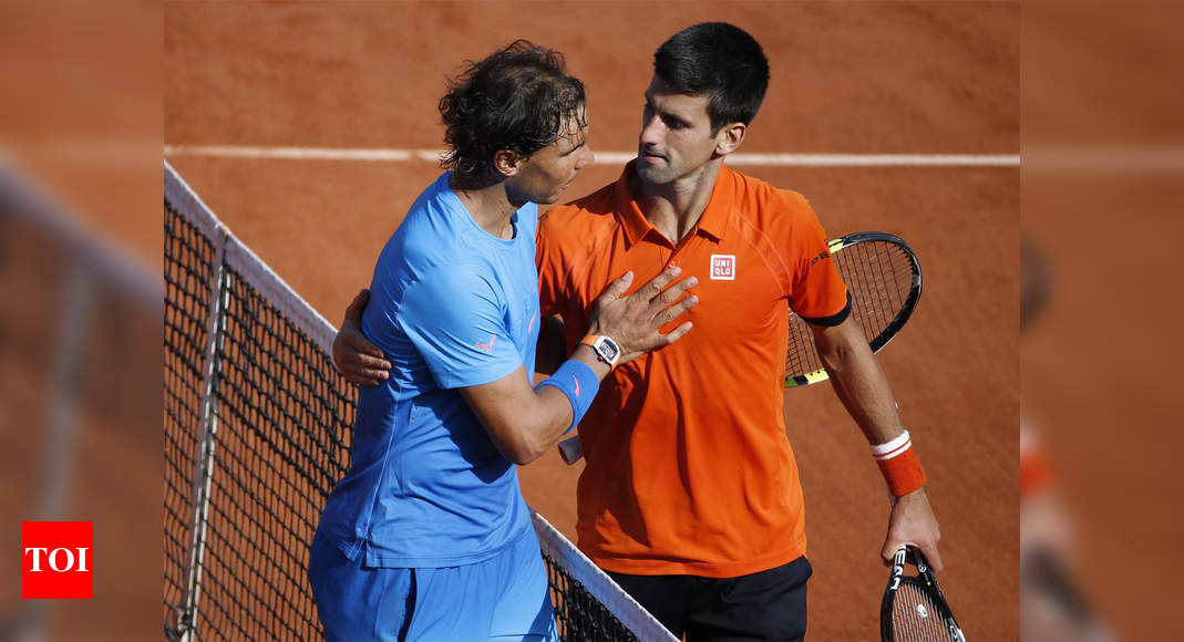 French Open: Let battle commence, says Djokovic ahead of Nadal showdown | Tennis News – Times of India
