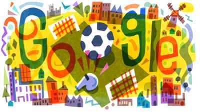 Google Doodle marks the start of UEFA Euro 2020