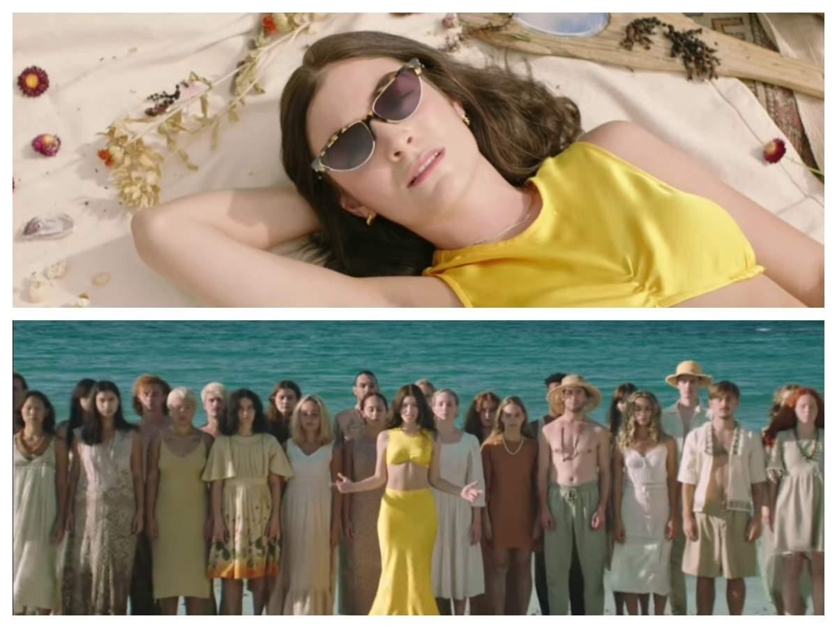Solar Power music video: Lorde unveils ...