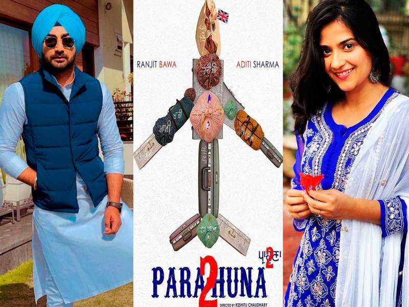 Parahuna 2: Ranjit Bawa and Aditi Sharma to headline a new Punjabi movie