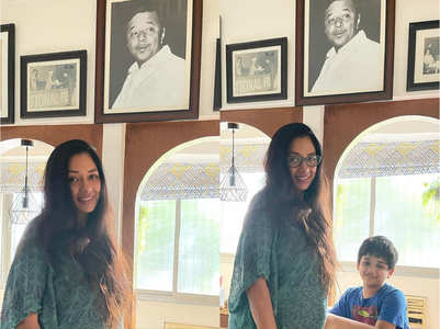 Rupali Ganguly misses her late father