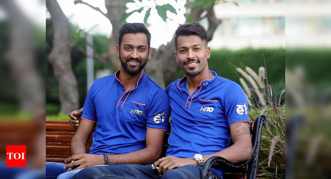 Hardik Pandya: For Krunal and I the lockdown period last year was a phase of improvement, it made us brutally honest   Cricket News – Times of India