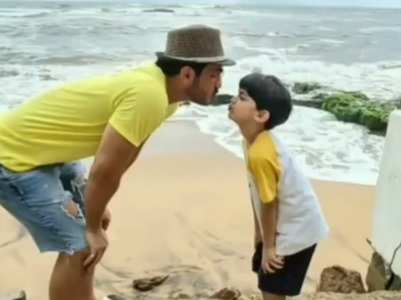 Arjun Bijlani misses son while shooting