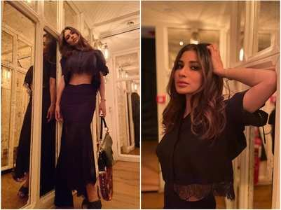Mouni Roy stuns in all-black look