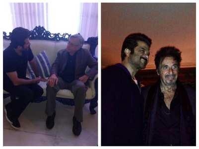 When Anil met Robert De Niro & Al Pacino