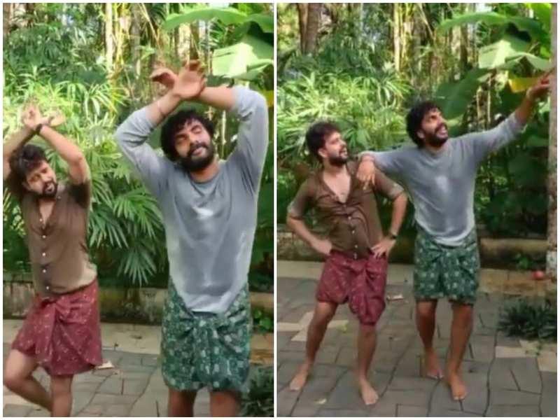 Watch: Bigg Boss Malayalam 3 fame Anoop Krishnan wows with his dance moves to the popular 'Kudukku' song