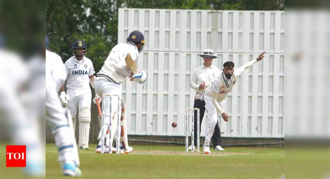 Players audition for WTC final as Team India play intra-squad match in Southampton | Cricket News – Times of India