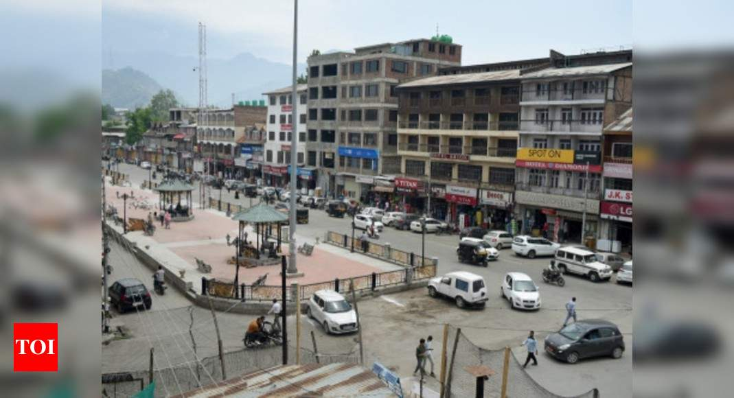Centre planning series of political initiatives in JK: Officials   India News – Times of India