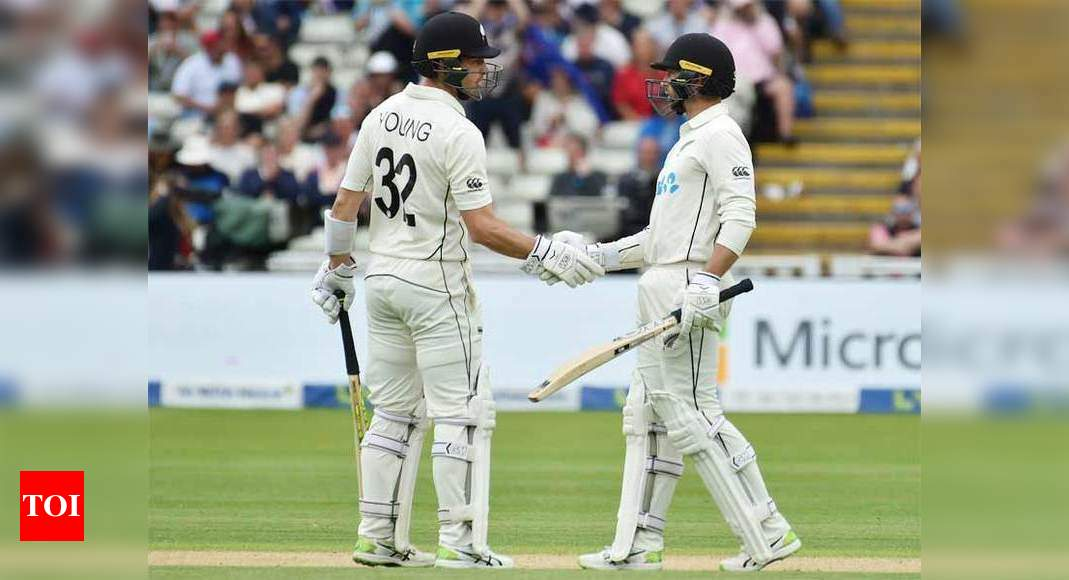 2nd Test: Conway and Young put NZ in charge against England at Edgbaston   Cricket News – Times of India